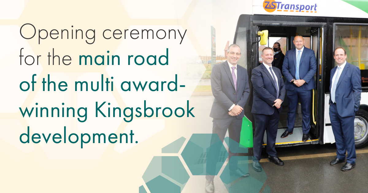 Kingsbrook Main Road Opening Ceremony